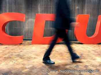 Suche nach Parteiführung: CDU-Landesverbände fordern mehr Beteiligung der Basis - Bietigheimer Zeitung