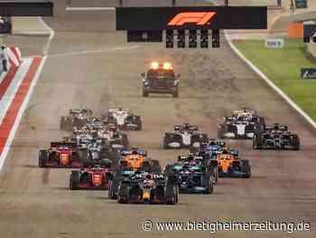 Motorsport: 245-Tage-Stresstest der Formel 1: Rekordrennkalender 2022 - Bietigheim-Bissingen - Bietigheimer Zeitung
