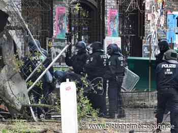Wagencamp: Polizei beginnt Räumung des linken Projekts Köpi in Berlin - Bietigheimer Zeitung