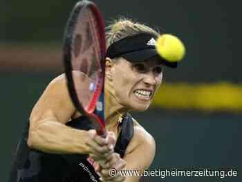 Tennis: Kerber scheitert im Viertelfinale in Indian Wells - Bietigheimer Zeitung
