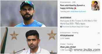 T20 World Cup: #Ban Pak Cricket Trends on Twitter Ahead of Blockbuster Clash Against Virat Kohli-Led India - India.com