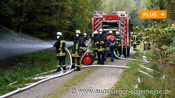 Waldbrand-Übung: Sind die Augsburger Einsatzkräfte für den Ernstfall gerüstet?
