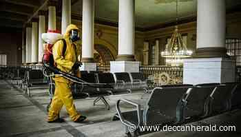Russia reports record daily Coronavirus cases again - Deccan Herald