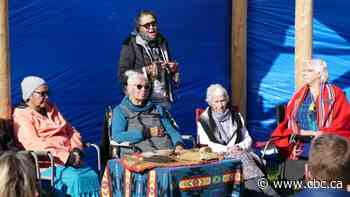 Clan Mothers hold ceremony ahead of demolition on site of former Catholic church camp north of Winnipeg