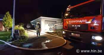 Brand vernielt garage: woning gevrijwaard | Ieper | hln.be - Het Laatste Nieuws