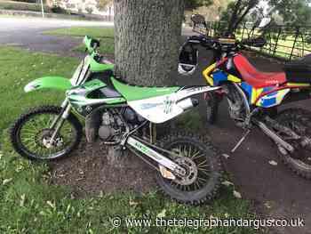 Stolen Kawasaki KX85 found on Harrogate Road, Bradford