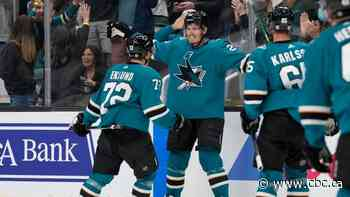 Sharks' rookies Eklund, Weatherby lead comeback victory over Jets