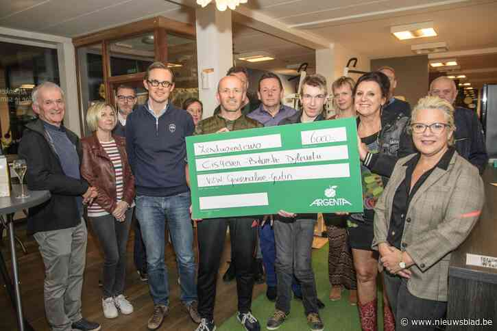 Drie vzw's ontvangen elk cheque van 2.000 euro