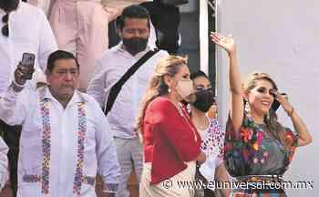 Así cobijó Félix la asunción de Evelyn Salgado en Guerrero   El Universal - El Universal