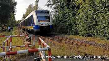 Zugunglück im Kreis Gifhorn: Mann (56) und Hund starben