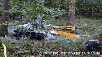 Drei Tote bei Hubschrauberabsturz in Baden-Württemberg