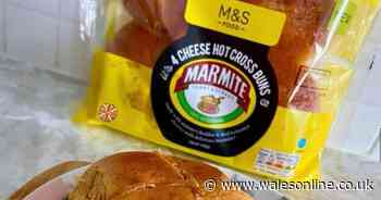 Marks and Spencer announce Marmite cheese hot cross buns will be available all year and people can't cope
