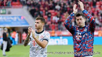 "Was war da denn los? Lewandowski blafft Reporter nach Gala in Leverkusen an: ""Meinst du im Training?"""
