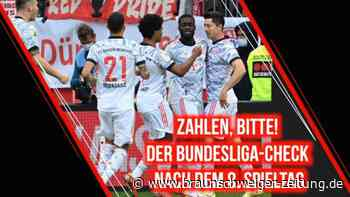 Zahlen, bitte! Der Bundesliga-Check nach dem 8. Spieltag