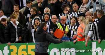 Newcastle United v Tottenham suspended amid medical emergency