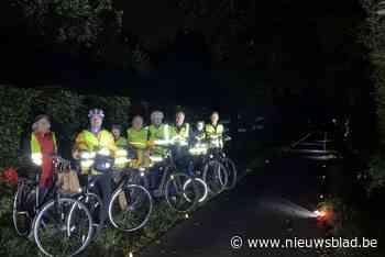 Oppositie wil slimme verlichting langs pikdonkere fietssnelw... (Sint-Gillis-Waas) - Het Nieuwsblad