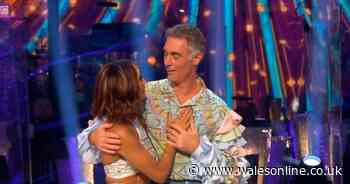 Greg Wise and Karen Hauer third couple to be voted off Strictly Come Dancing