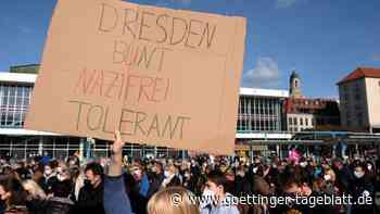 Proteste: Tausende stören Pegida-Jubiläum in Dresden