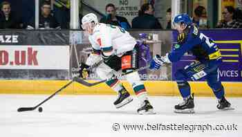 Scott Conway fires hat-trick to lead Belfast Giants to first Elite League win of season at Coventry Blaze