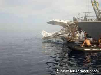 L'épave de l'avion qui s'est écrasé au large de Halat repêchée par l'armée - L'Orient-Le Jour