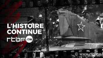 L'Histoire Continue : 1989, un avion militaire soviétique sans pilote à bord s'écrase en Belgique - RTBF