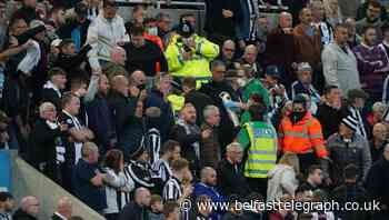 Newcastle fan who received emergency treatment at game 'stable and responsive'