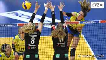 Volleyball-Bundesliga: SSC verliert 0:3 in einem ganz engen Spiel gegen Dresden | svz.de - svz – Schweriner Volkszeitung