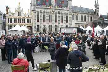 Muzikaal protest tegen armoede in Brugge (Brugge) - Het Nieuwsblad