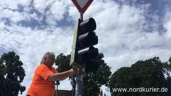 In Neubrandenburg bleiben zwei Tage lang Ampeln aus - Nordkurier