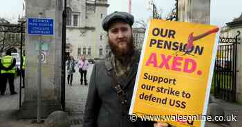 Threat of more university disruption as staff across Wales are balloted on strike action over pay and  pensions