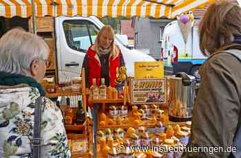 Gräfenrodaer Herbstmarkt - Herbstmarkt mit Ständen, Karussell und Pony Hans - inSüdthüringen