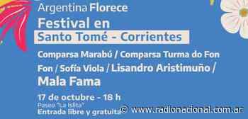 Festival Argentina Florece en Santo Tomé – Radio Nacional - Radio Nacional