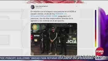 Omar Garcia Harfuch confirma detención de implicados en tiroteo en AICM - Noticieros Televisa