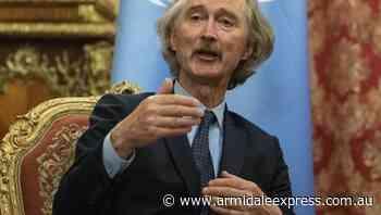 Syria govt, rivals discuss constitution - Armidale Express