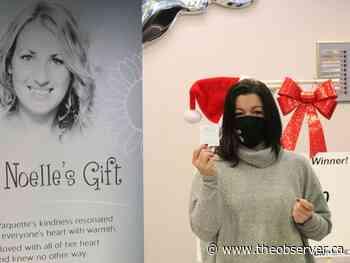 Lottery fundraiser for Noelle's Gift returns - Sarnia Observer