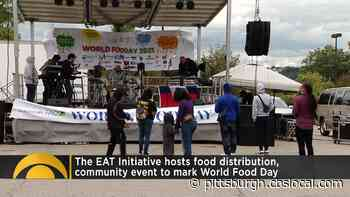 EAT Initiative Hosts Food Distribution – News, Sports, Weather, Traffic and the Best of - CBS Pittsburgh