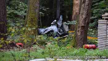 Hubschrauberabsturz mit drei Toten: Identität der Opfer weiter unklar
