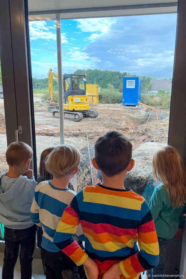 Alarm in der Kinderinsel: Feuerwehr probte
