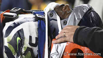 Steelers fans seen doing the wave while Seahawks defensive end Darrell Taylor left game with serious injury