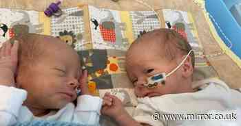 Parents forced to make 8-hour daily trip to visit twins finally move closer to home