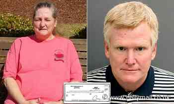 Alex Murdaugh is jailed AGAIN on $4m fraud charges over allegations he defrauded sons of housekeeper