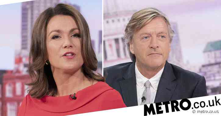 Good Morning Britain's Susanna Reid feeling 'discombobulated' as social distancing is axed on set