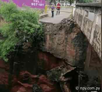 Lambaré: por prevención cierran media calzada de puente | Noticias Paraguay - NPY