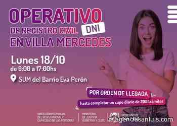 Las oficinas móviles para la gestión de DNI arribarán a Villa Mercedes - Agencia de Noticias San Luis
