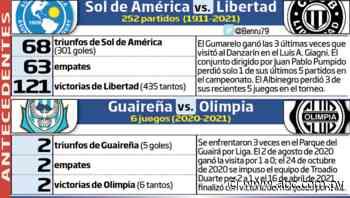 Cartelera dominical, en Villa Elisa y Villarrica - Fútbol - ABC Color