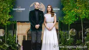 Prinz William vergibt Earthshot-Umweltpreise