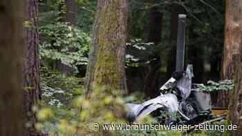 Polizei:DreiMänner starben bei Hubschrauberabsturz