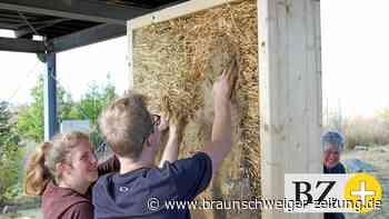 In Schöningen lernen Gifhorner Azubis klimaschützendes Bauen