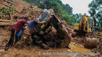 Tote nach heftigem Regen in Indien