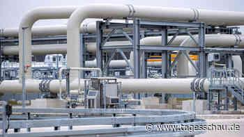 Erste Röhre von Nord Stream 2 mit Gas befüllt